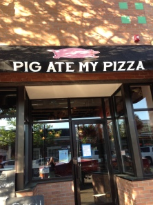 Pig ate my pizza